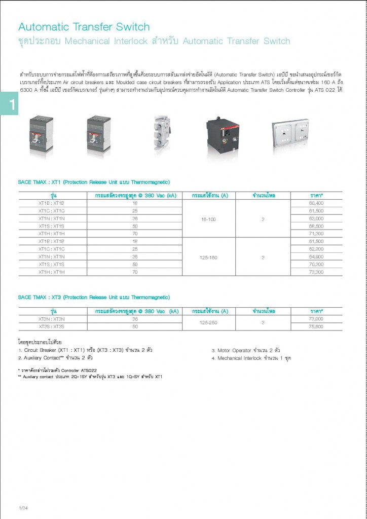 Low Voltage Products Thailand Price List 20141-page-038