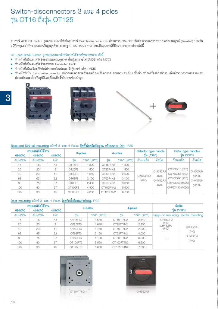 Low Voltage Products Thailand Price List 20141-page-058