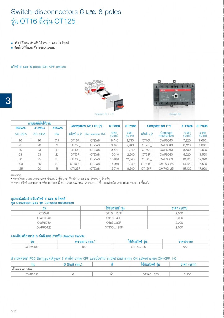 Low Voltage Products Thailand Price List 20141-page-062