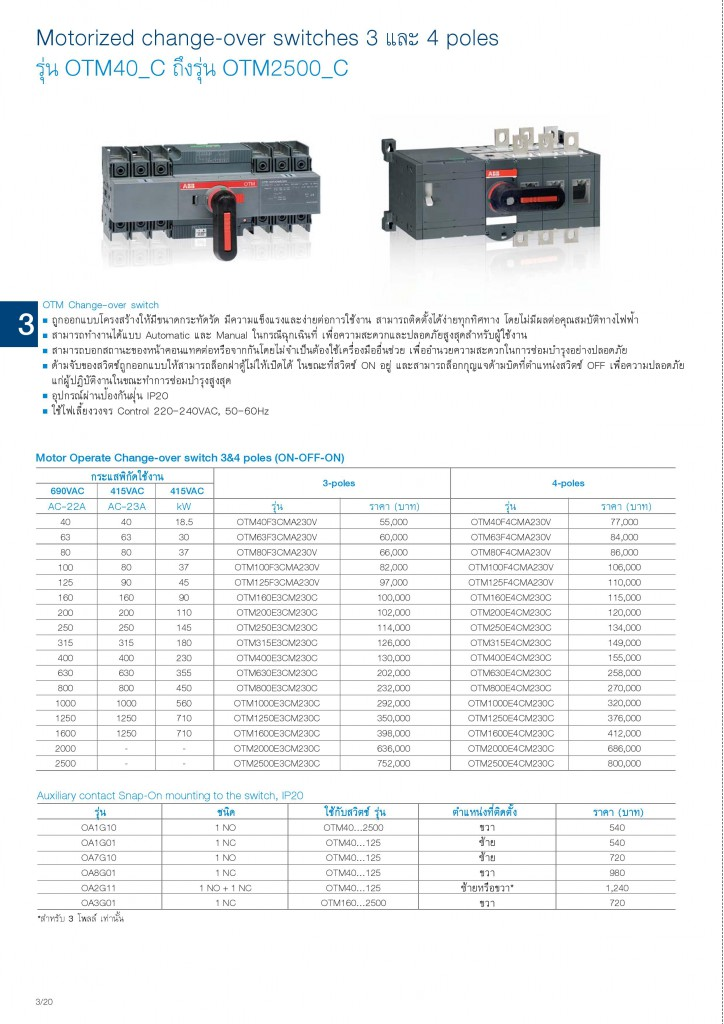 Low Voltage Products Thailand Price List 20141-page-070