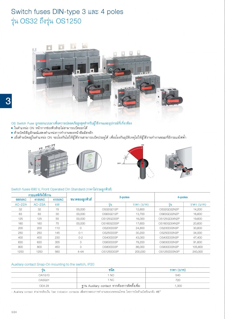Low Voltage Products Thailand Price List 20141-page-074