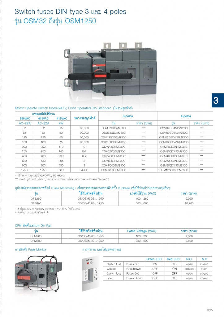 Low Voltage Products Thailand Price List 20141-page-075