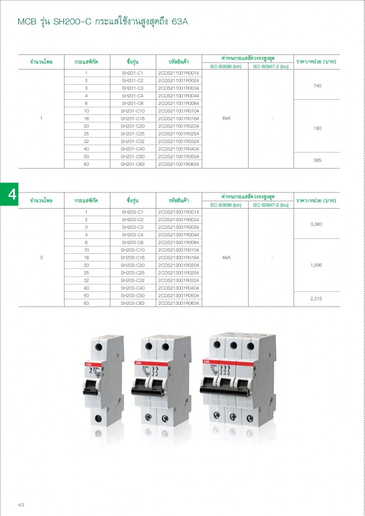 Low Voltage Products Thailand Price List 20141-page-078