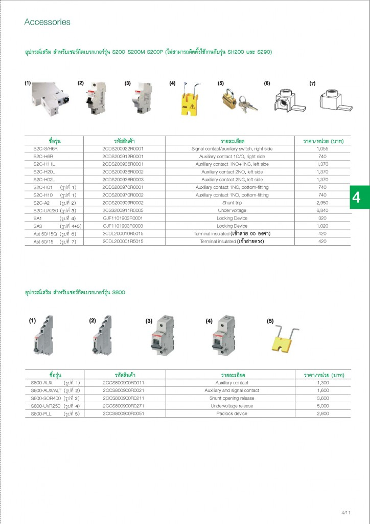 Low Voltage Products Thailand Price List 20141-page-087