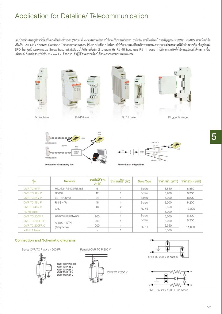 Low Voltage Products Thailand Price List 20141-page-113
