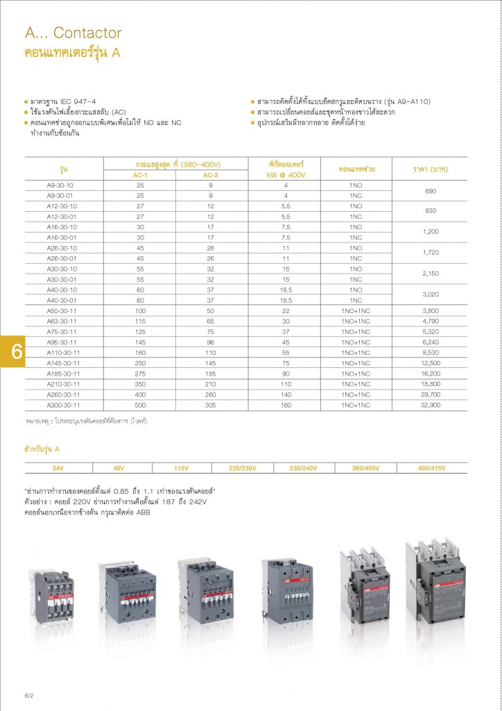 Low Voltage Products Thailand Price List 20141-page-120