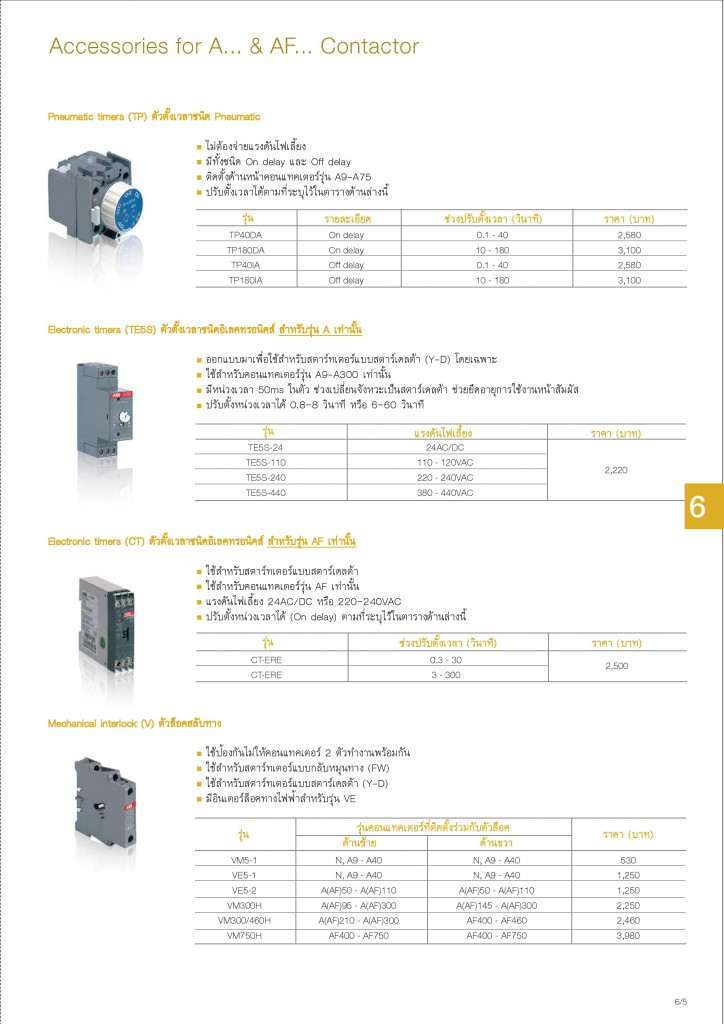 Low Voltage Products Thailand Price List 20141-page-123