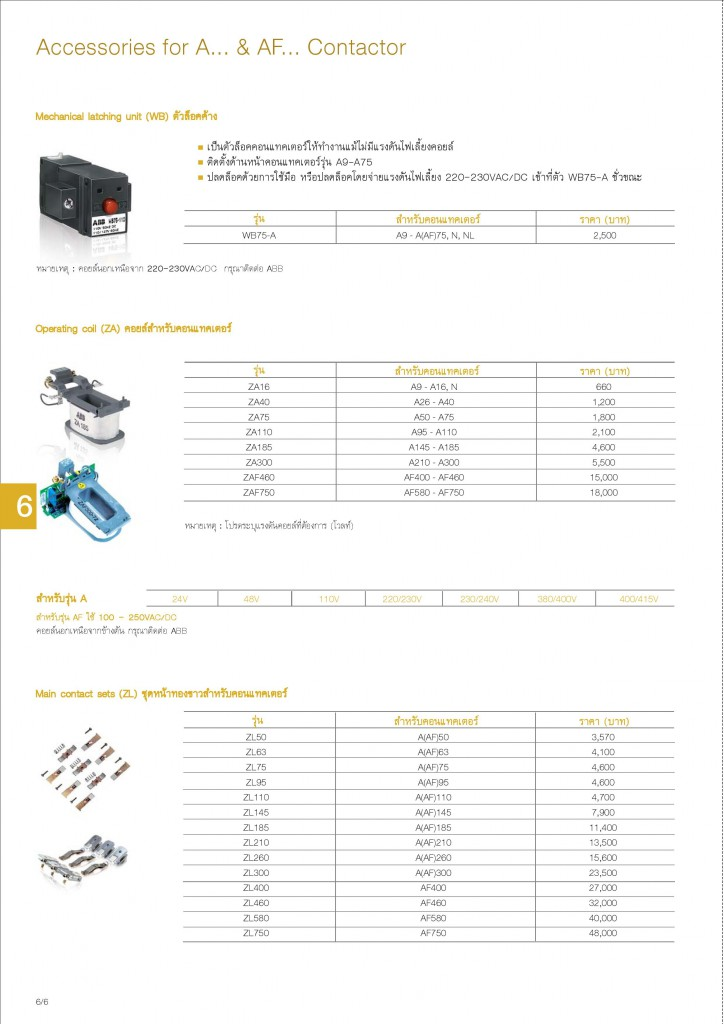 Low Voltage Products Thailand Price List 20141-page-124