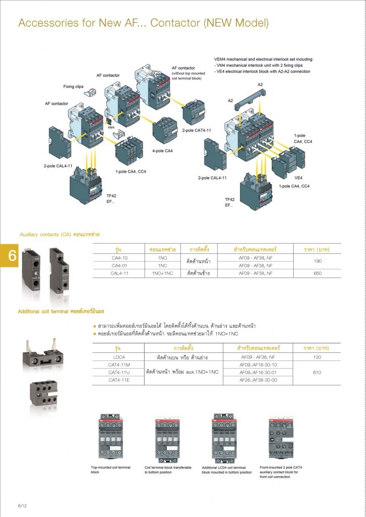 Low Voltage Products Thailand Price List 20141-page-130