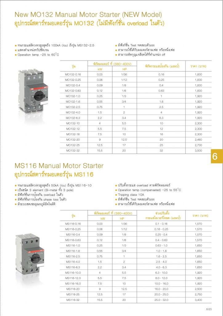 Low Voltage Products Thailand Price List 20141-page-141