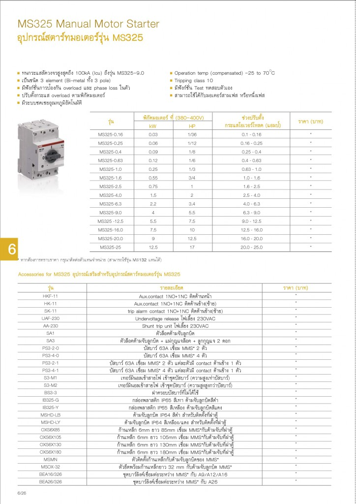 Low Voltage Products Thailand Price List 20141-page-144