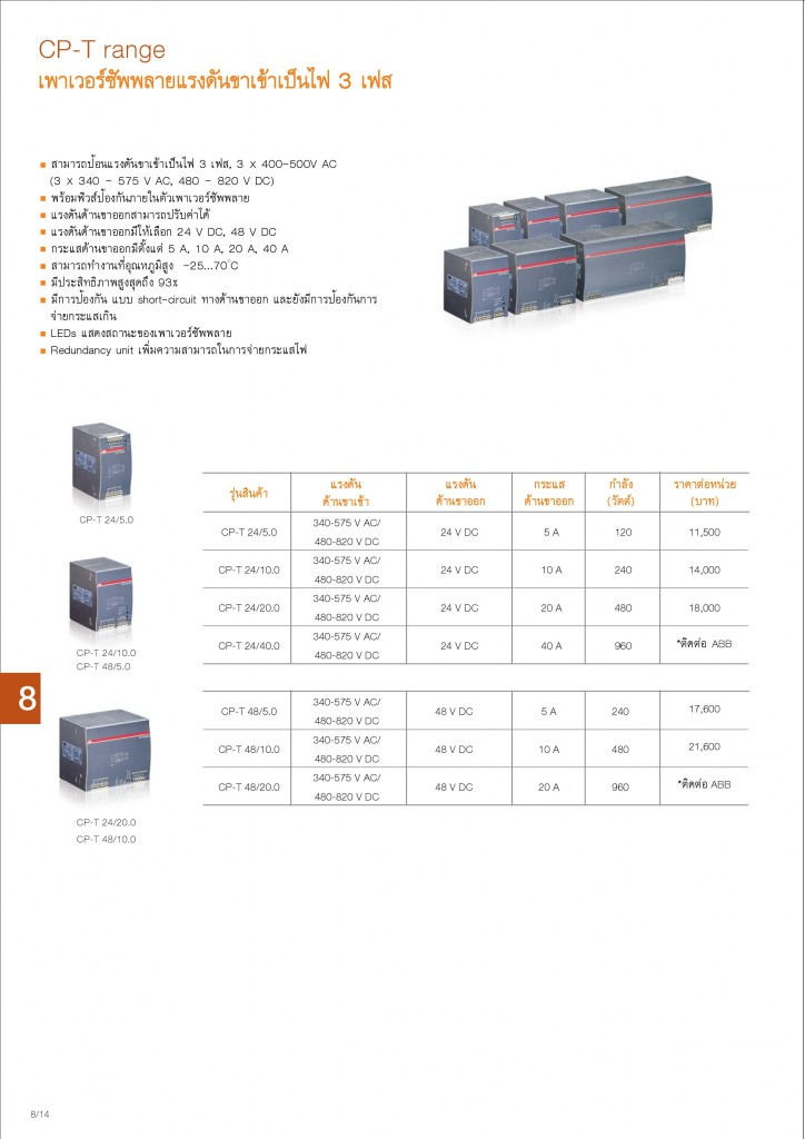 Low Voltage Products Thailand Price List 20141-page-174