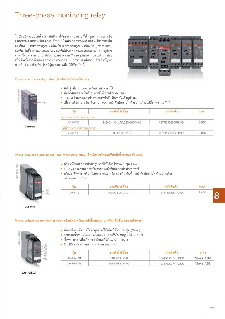Low Voltage Products Thailand Price List 20141-page-169
