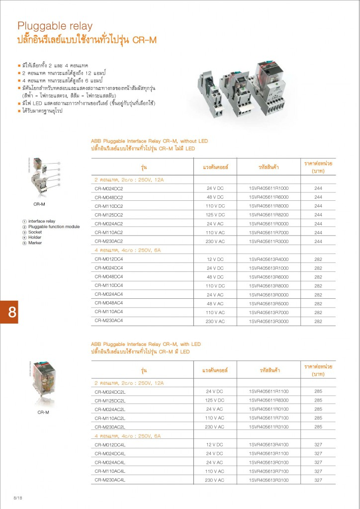 Low Voltage Products Thailand Price List 20141-page-178