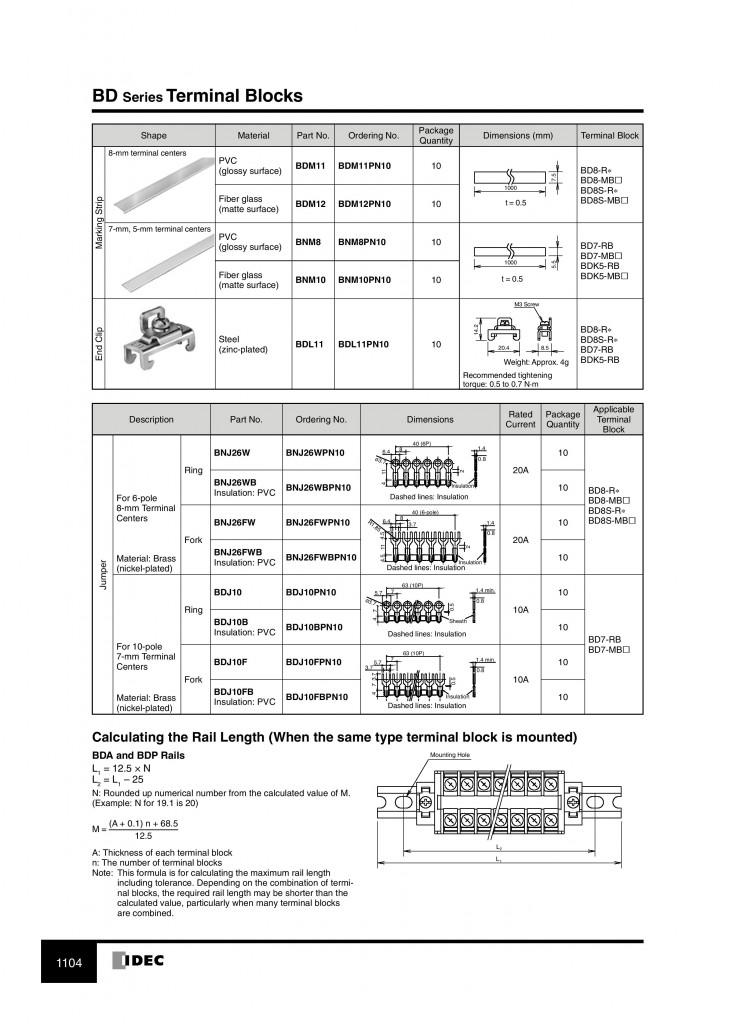 BD series terminal block-page-007