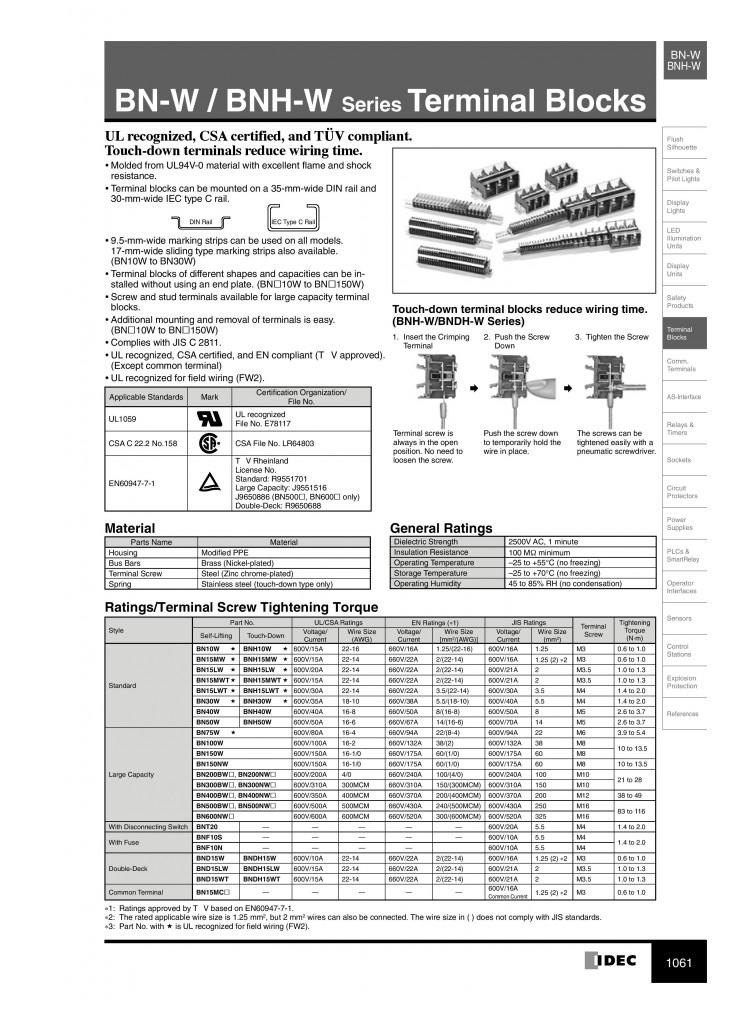 BN series terminal block-page-001